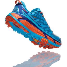 Hoka One One Mafate Speed 2 Running Shoes Dam scuba blue/storm blue